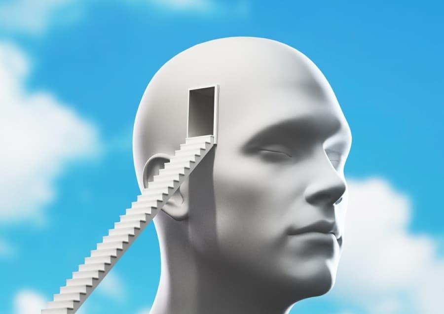 psychoanalysis metaphor - doorway into the mind
