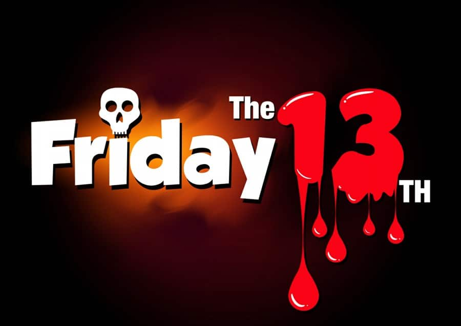 Fear of Friday 13th Friggatriskaidekaphobia - friday 13th horror banner