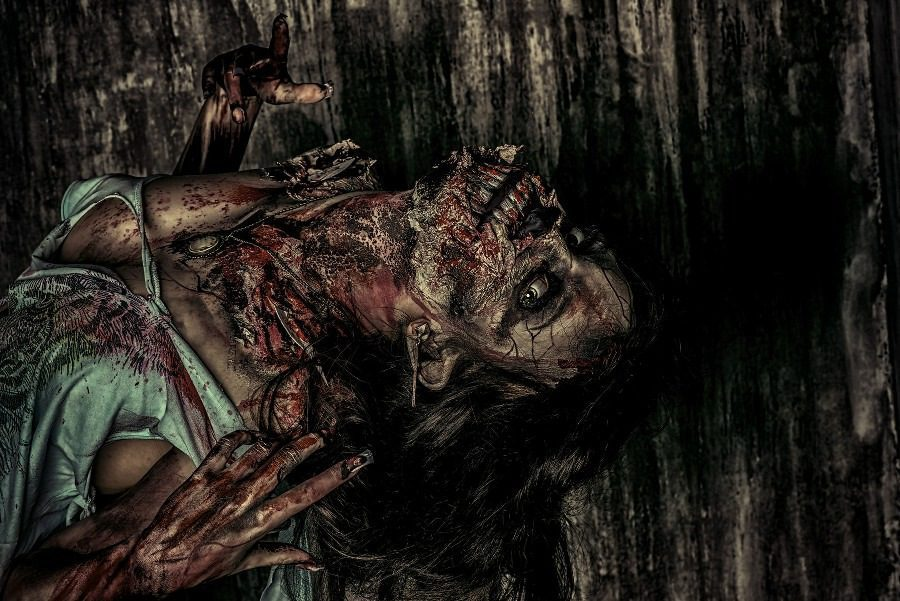 Oneirophobia Fear of Dreams - Nightmarish Dream Image - Zombie