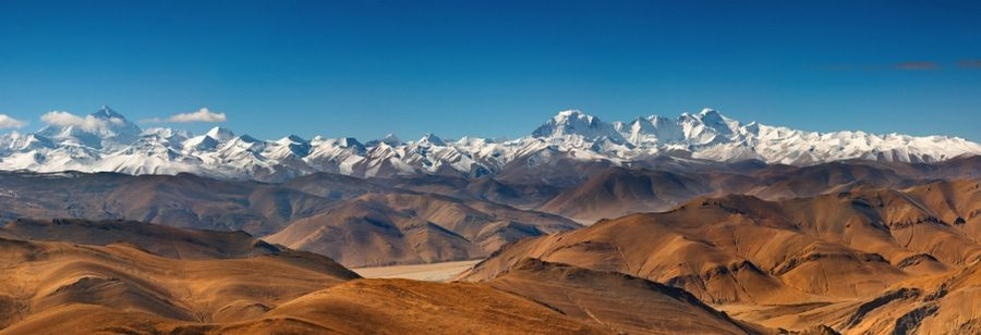 Agoraphobia is the Fear of Open Spaces - Mount Everest Scene
