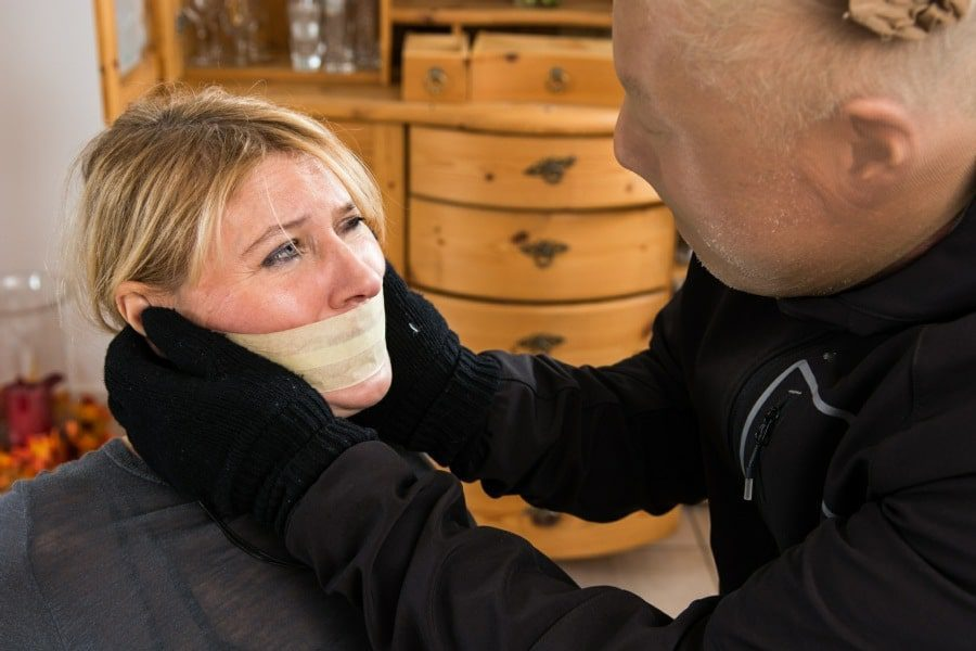 post traumatic stress disorder counselling wolverhampton - woman gagged by burglar