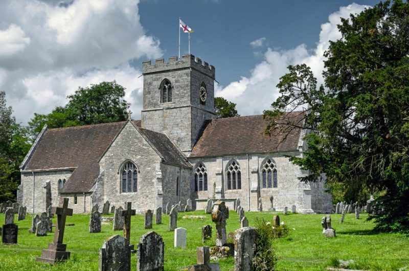 ecclesiophobia is the fear of churches or religion - english rural church