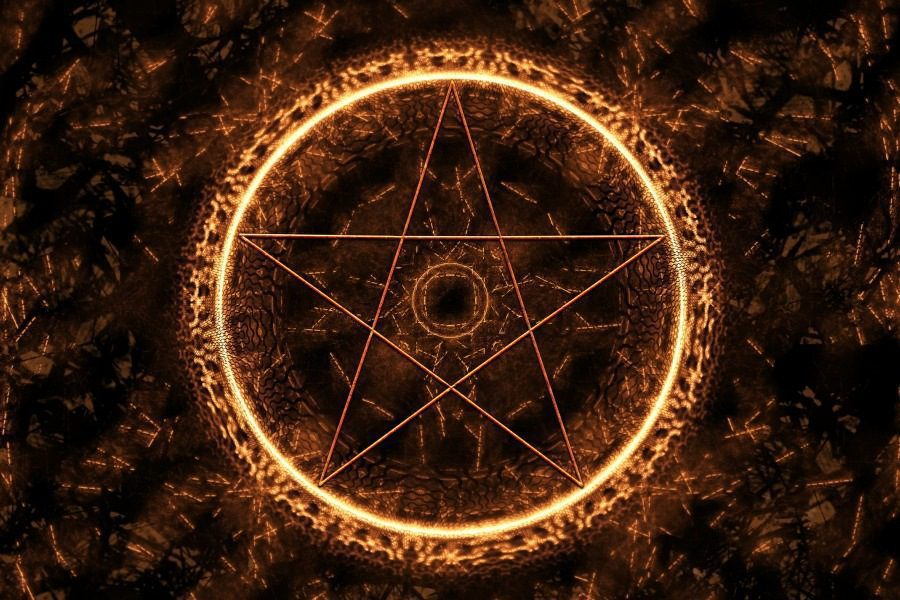 Fear of Demons Demonophobia - Occult symbol