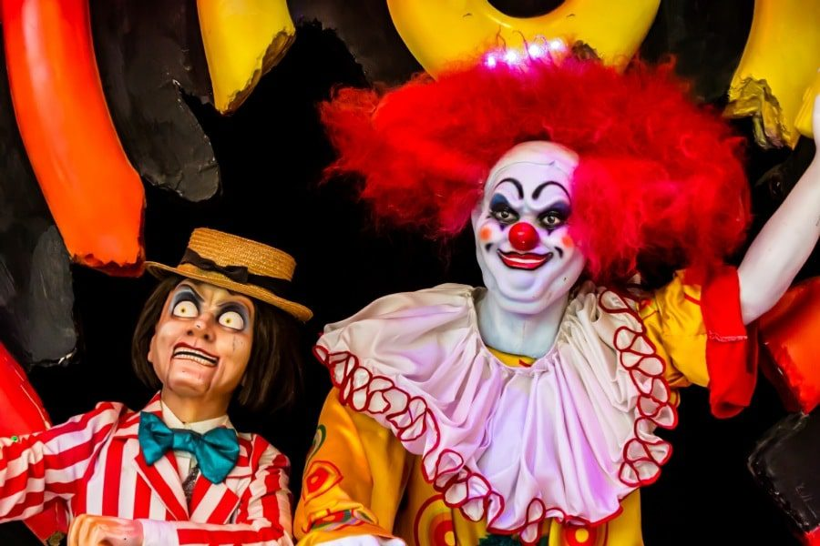 psychology services for phobias - clowns