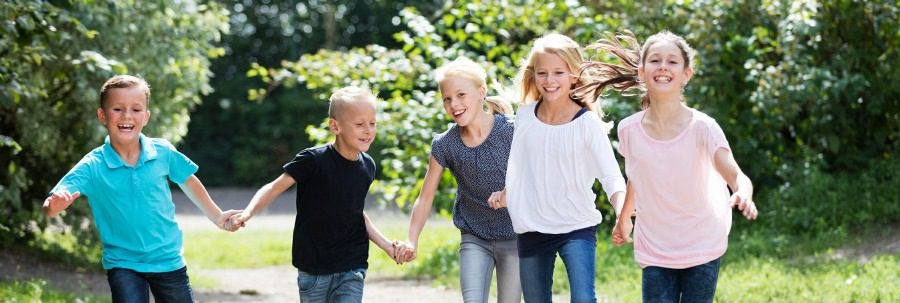 child counselling wolverhampton - Young Kids playing happily
