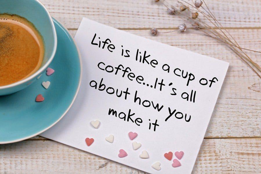 life coaching wolverhampton - life is like coffee